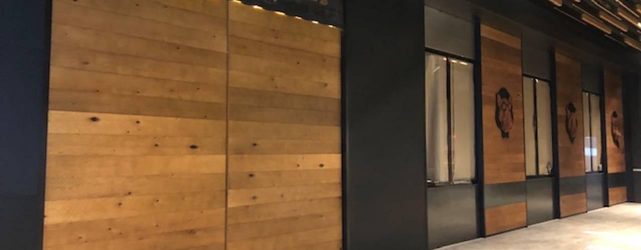 Restaurante Boston Grill Acoxpa de EA ARCHITECTURE & FURNITURE Moderno