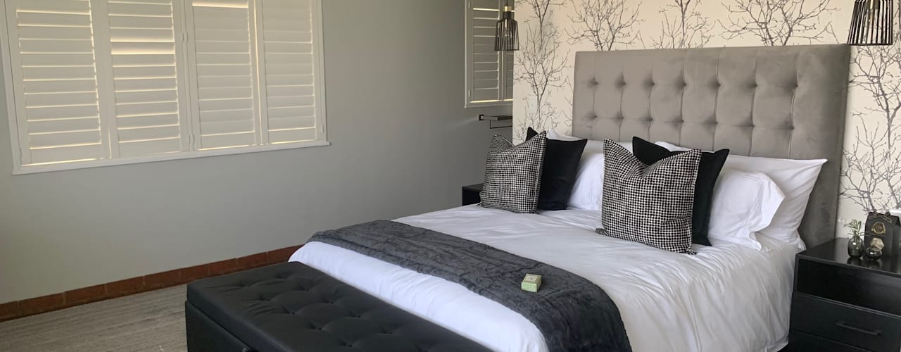 Fourways Project Modern style bedroom by CS DESIGN Modern