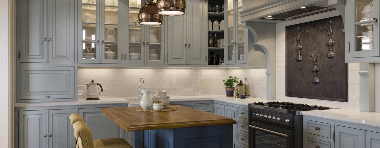 Дом на Николиной Горе Кухня в классическом стиле от MARION STUDIO Классический