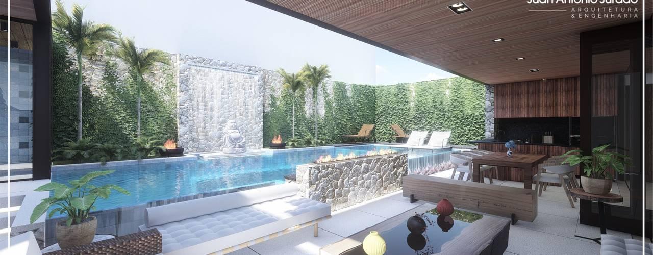 Reforma Residencia Moderna por Juan Jurado Arquitetura & Engenharia