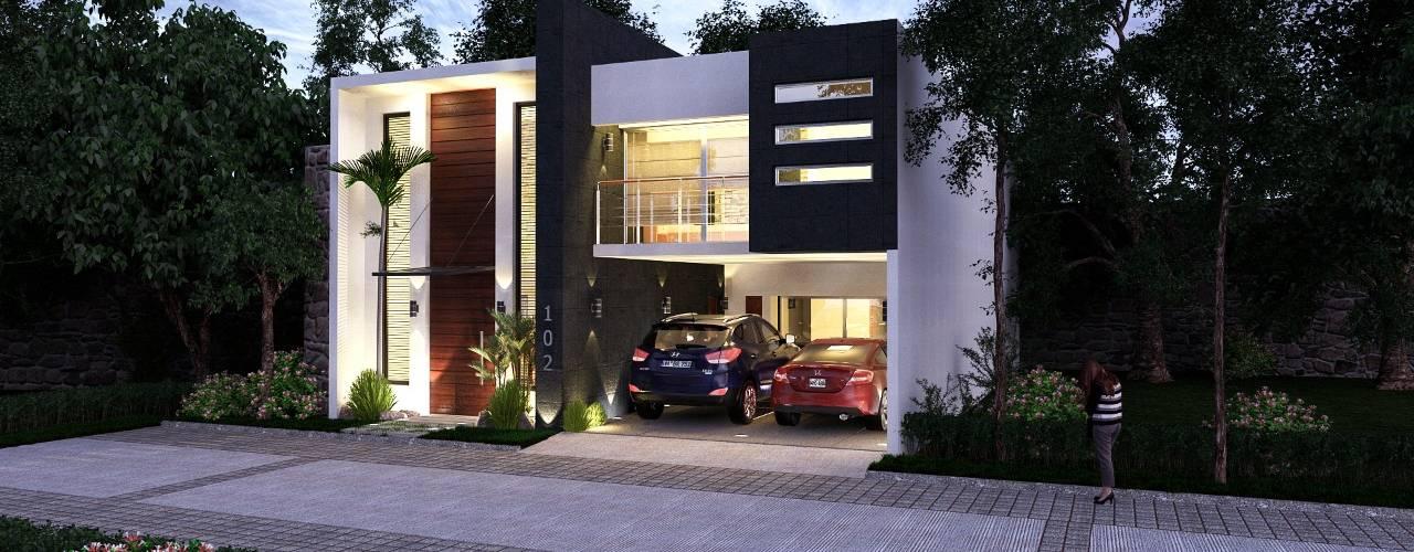 Residencia Nissi de AR216 Moderno