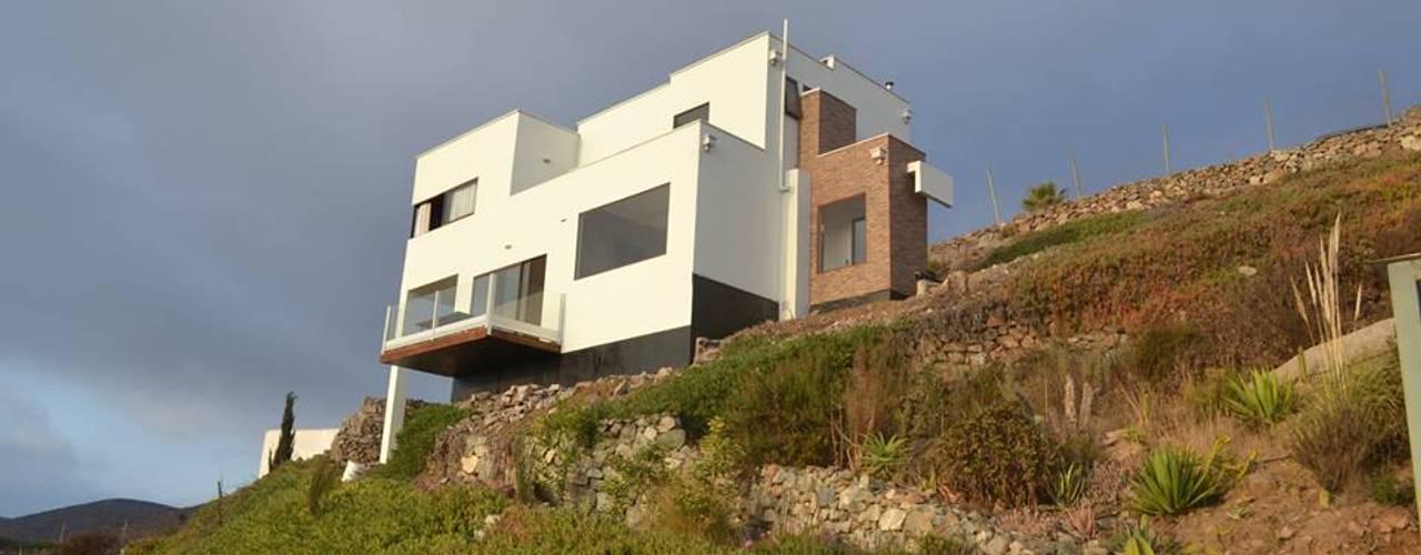 Vivienda Mediterráneo EIFS 131m2 : Casas prefabricadas de estilo  por Casas Metal, Mediterráneo