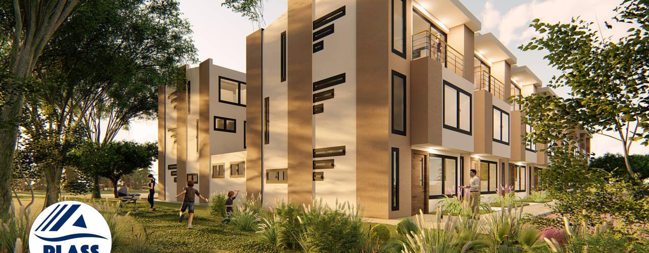 Reserva el Lago Casas modernas de PLASS Arquitectura & Construcción Moderno