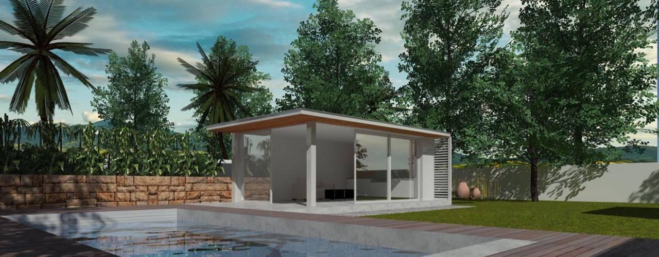 : Casas unifamiliares de estilo  por  Constructora Sanar spa , Moderno
