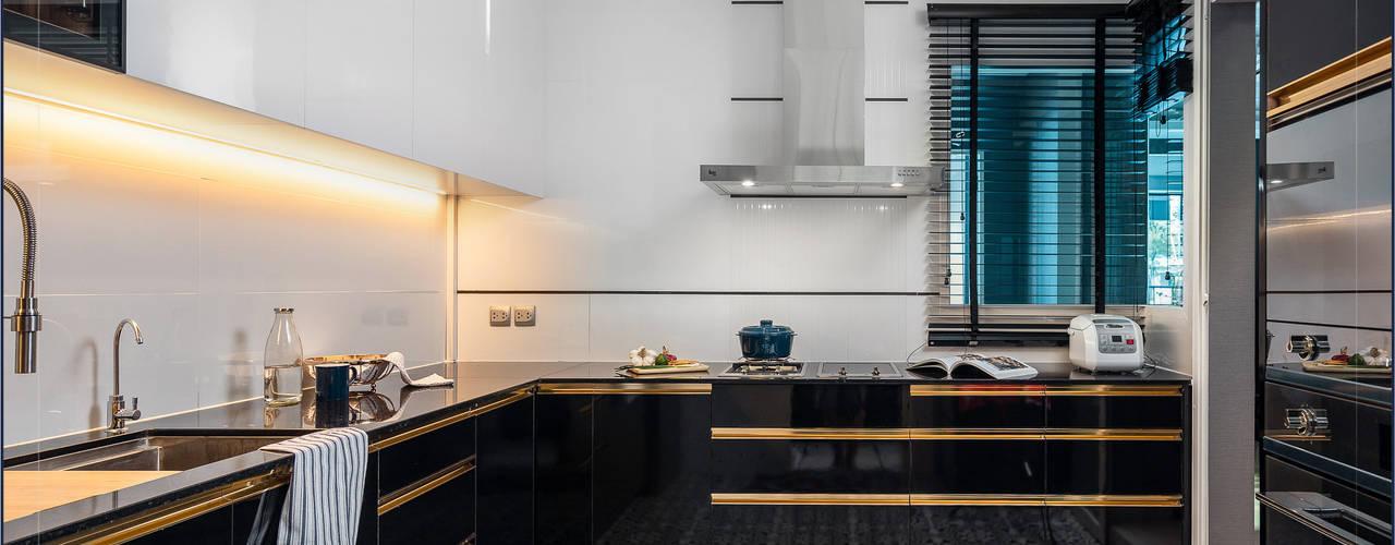 ความสุขง่ายๆเริ่มต้นได้ที่ครัว: ทันสมัย  โดย BAANSOOK Design & Living Co., Ltd., โมเดิร์น
