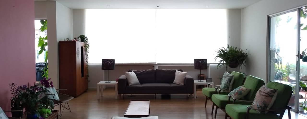 Apartamento L&R Salas modernas de entrearquitectosestudio Moderno