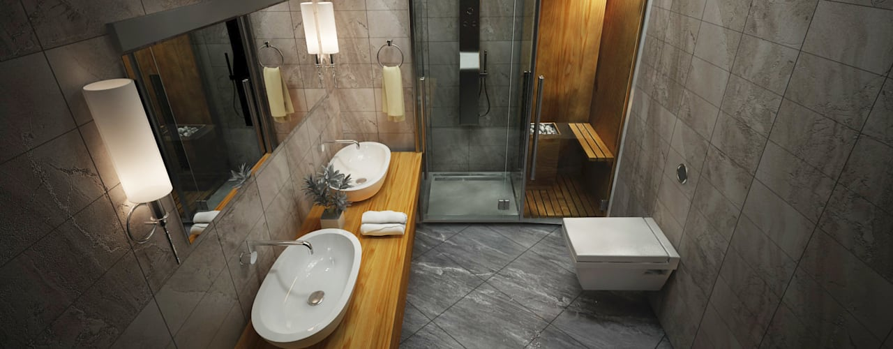 Baños de estilo moderno de ARCONPROJE Moderno