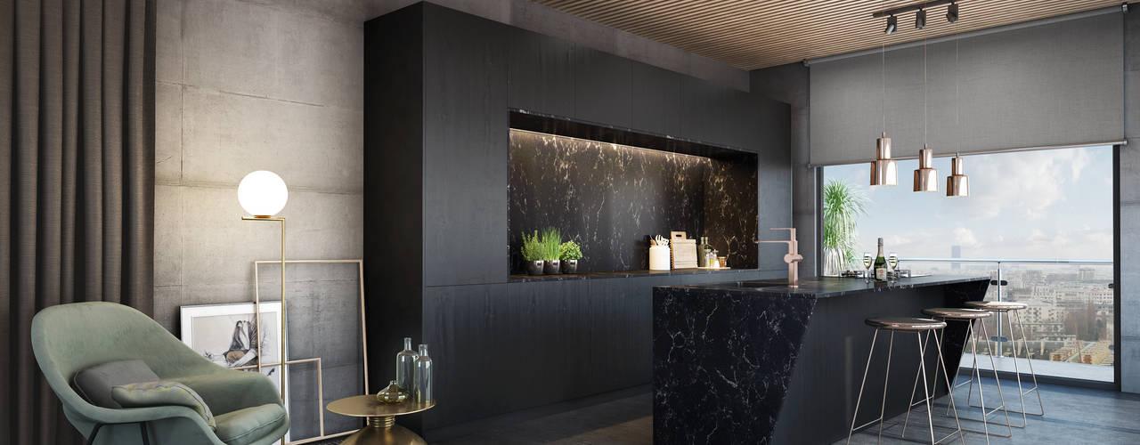 Signature Kitchen Éléments de cuisine Marbre Noir