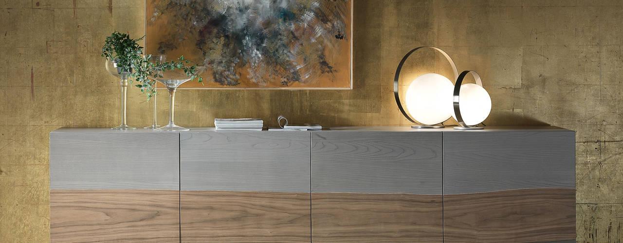 Madie Moderne in Legno Idea Stile Soggiorno moderno
