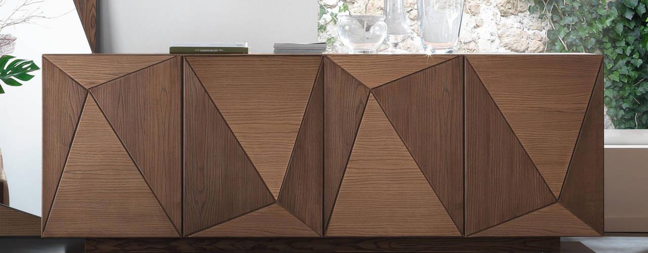Madie Moderne in Legno Soggiorno moderno di Idea Stile Moderno
