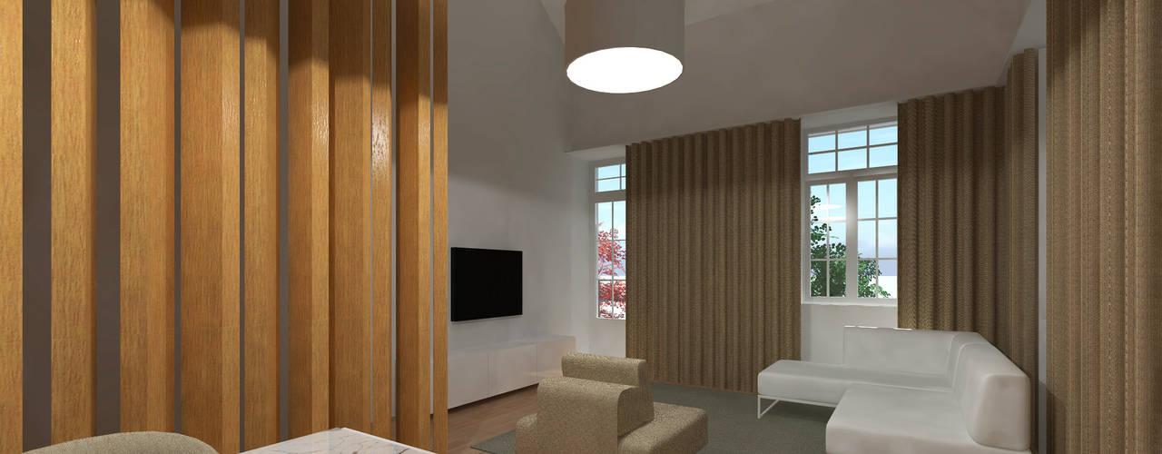 Reabilitação Edificio Habitação Colectiva - Trofa por MCSARQ
