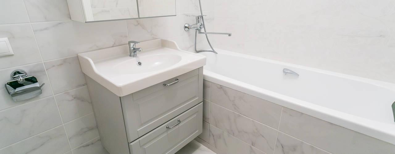 Примеры ремонтов от студии Icon Ванная в классическом стиле от Ремонт и дизайн квартир с ICON Классический