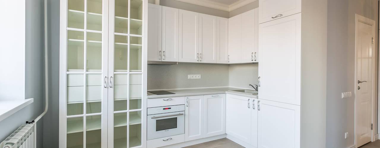 Примеры ремонтов от студии Icon Кухня в классическом стиле от Бюро интерьеров ICON Классический
