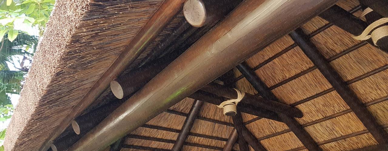 SELECCION DE TRABAJOS REALIZADOS POR PERGOLAS LUXURY 1 PERGOLAS LUXURY JardínPérgolas, toldos e invernaderos
