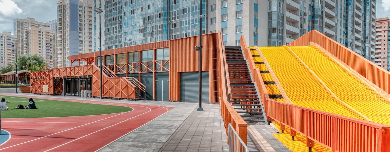 Спортивно-развлекательный комплекс МЕГА. Химки Торговые центры в скандинавском стиле от Alpbau Скандинавский