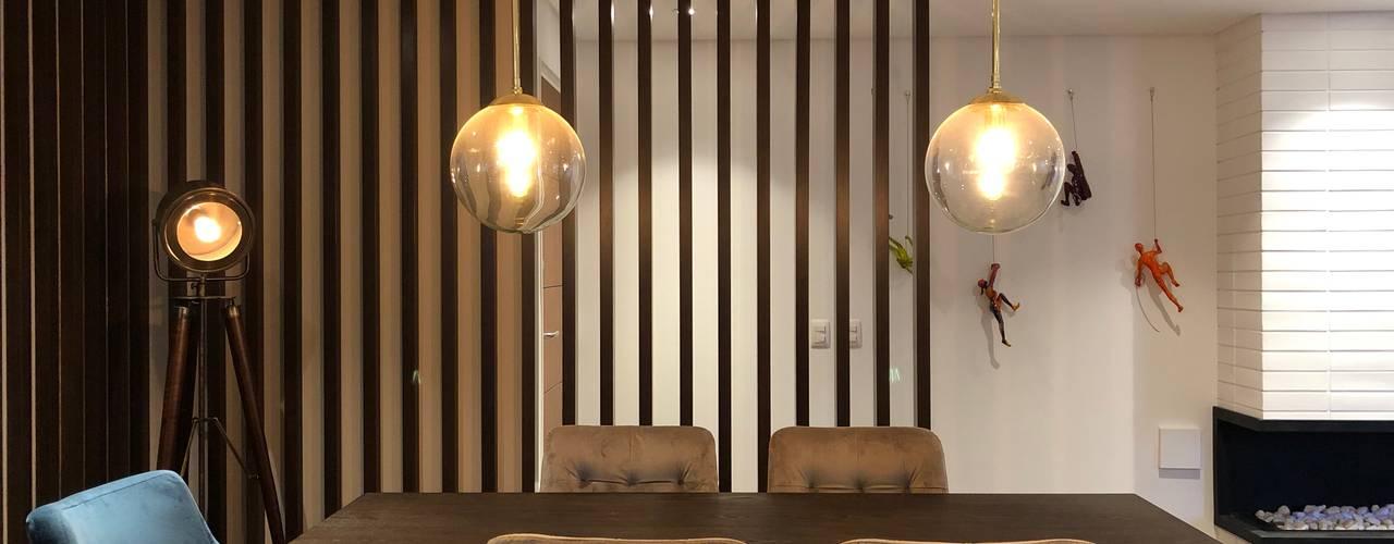 Apartamento AGS Comedores de estilo moderno de entrearquitectosestudio Moderno