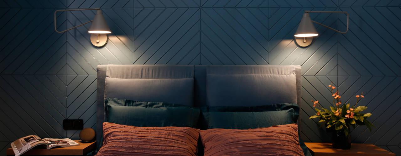 MEDIOLAŃSKIE KLIMATY - zdjęcia MIKOŁAJSKAstudio Nowoczesna sypialnia