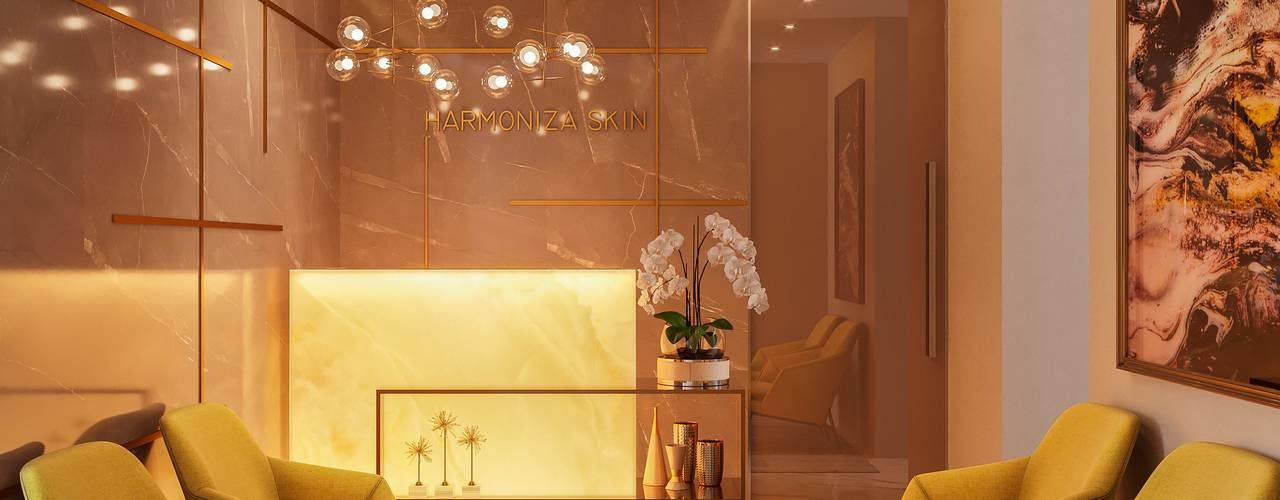Clínica estética Clínicas modernas por Camila Pimenta   Arquitetura + Interiores Moderno