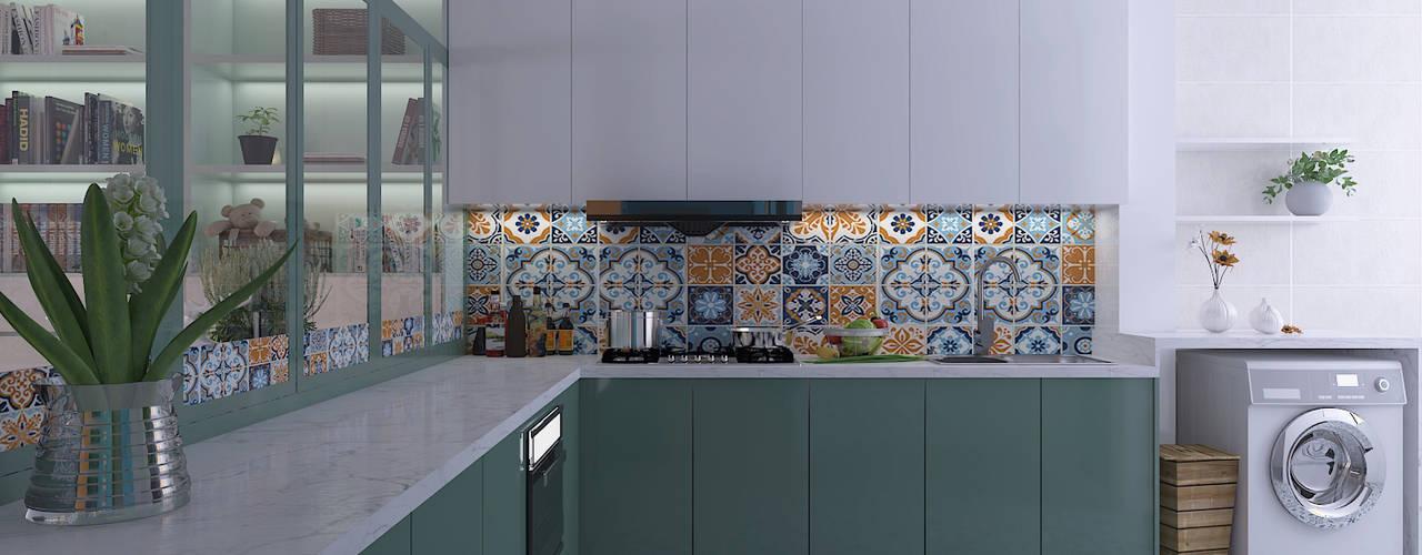 Woodlands St 81 Modern kitchen by Swish Design Works Modern