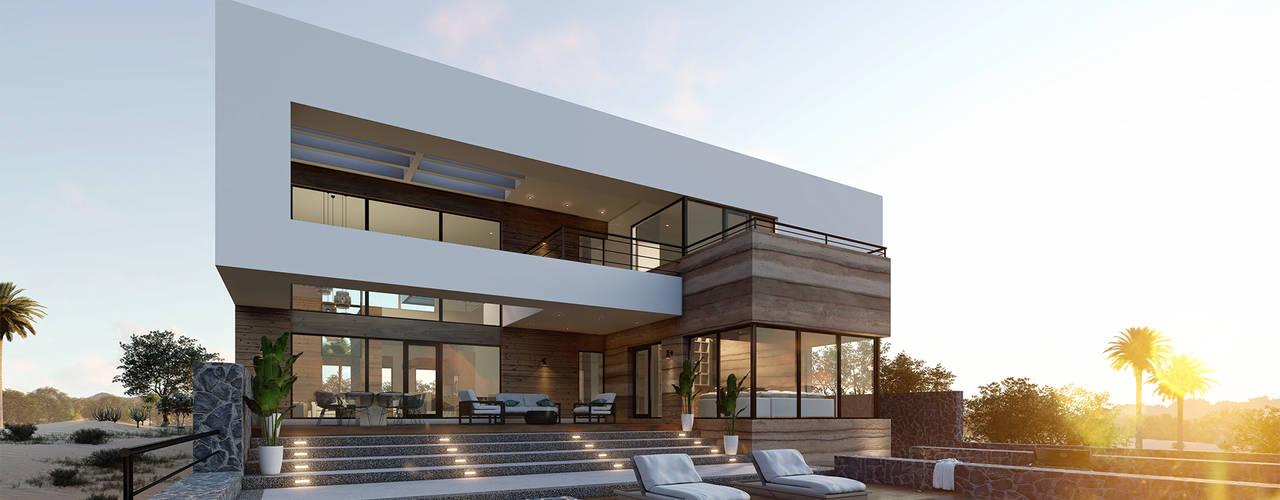 Residencia en Playa de Sonora Casas modernas de Merarki Arquitectos Moderno
