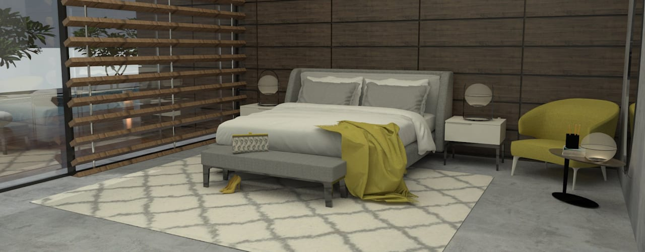 Abra as portas de sua casa ao estilo moderno! Quartos modernos por Casactiva Interiores Moderno