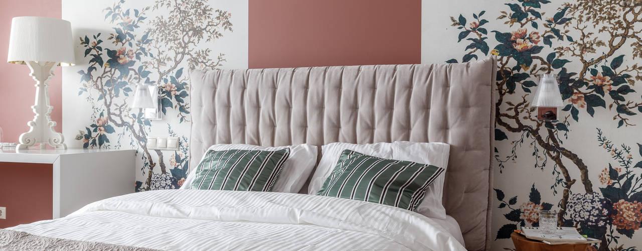 Квартира для молодой семьи Спальня в стиле модерн от BON TON Модерн