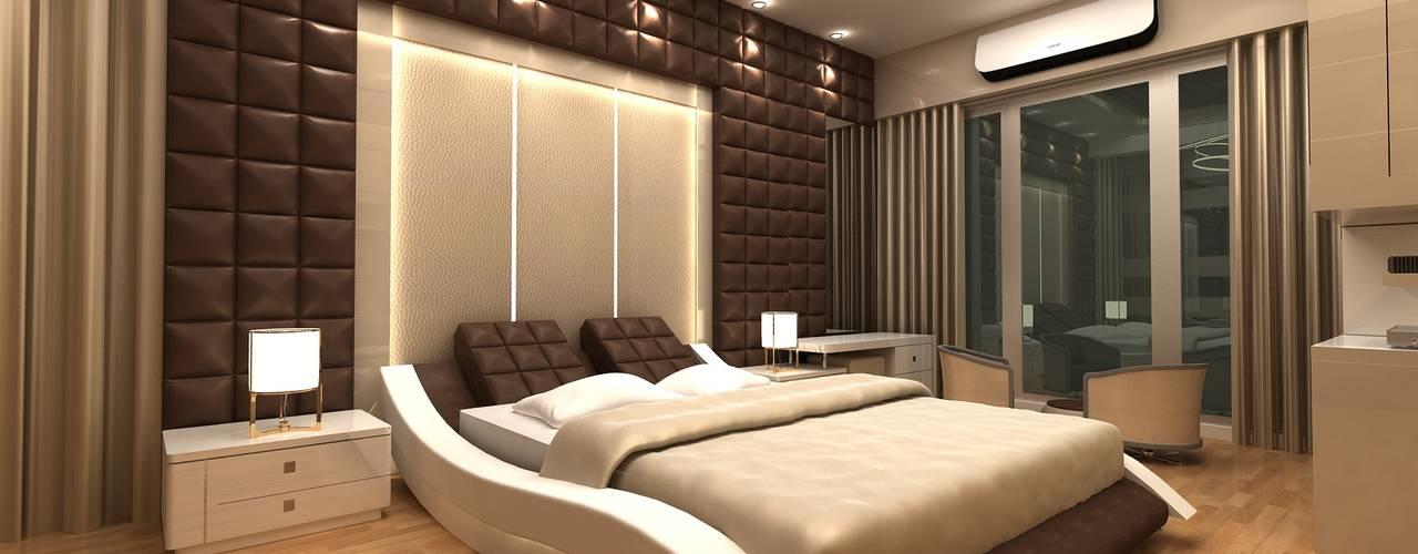 Bedroom Idea Modern style bedroom by Clickhomz Modern