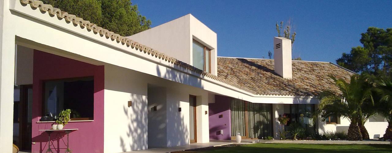 Vivienda unifamiliar en Madrid de Otto Medem Arquitecto vanguardista en Madrid Moderno