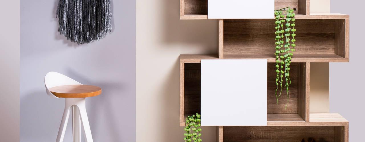 ¿Cómo decorar espacios pequeños? Estudios y despachos modernos de moblum Moderno