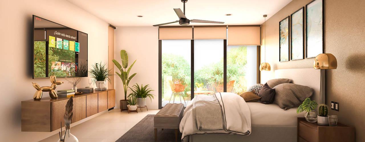 CASA 7 Dormitorios modernos de MGS Proyectos Moderno