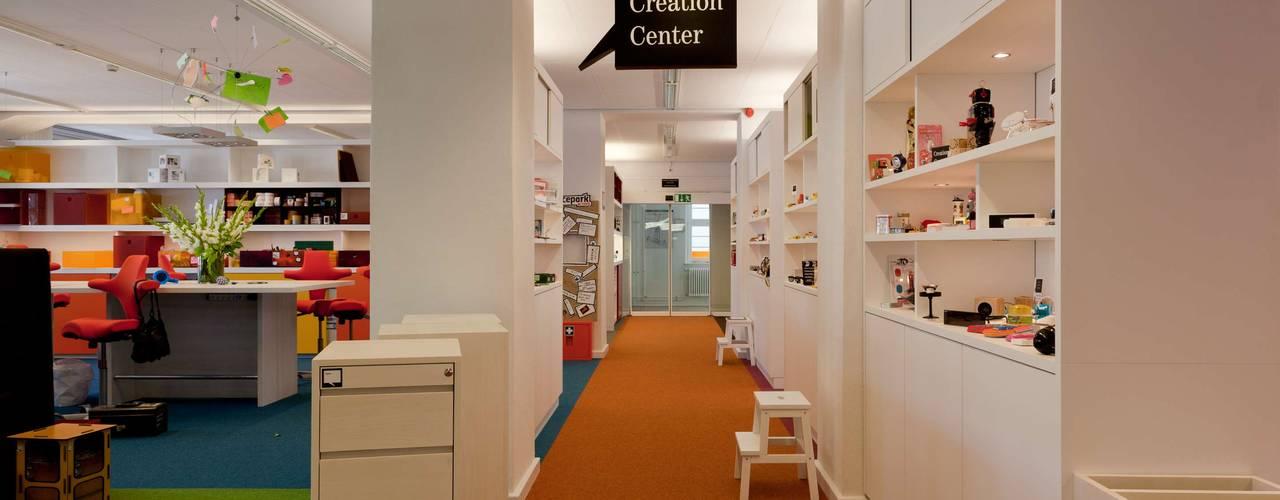 CREATION CENTER Moderne Bürogebäude von _WERKSTATT FÜR UNBESCHAFFBARES - Innenarchitektur aus Berlin Modern
