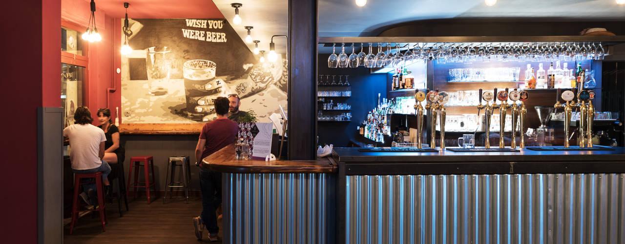 Restyling Pub Birreria Pizzeria :  in stile industriale di Rifò, Industrial