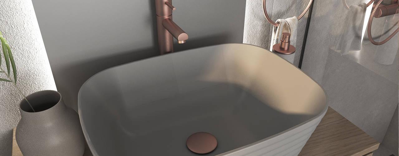 O Mate que adiciona brilho à sua casa Casas de banho modernas por Smile Bath S.A. Moderno