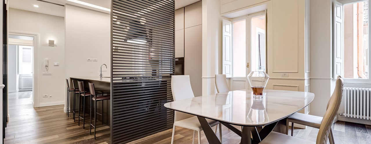 VERBANO HOME DESIGN EF_Archidesign Cucina moderna