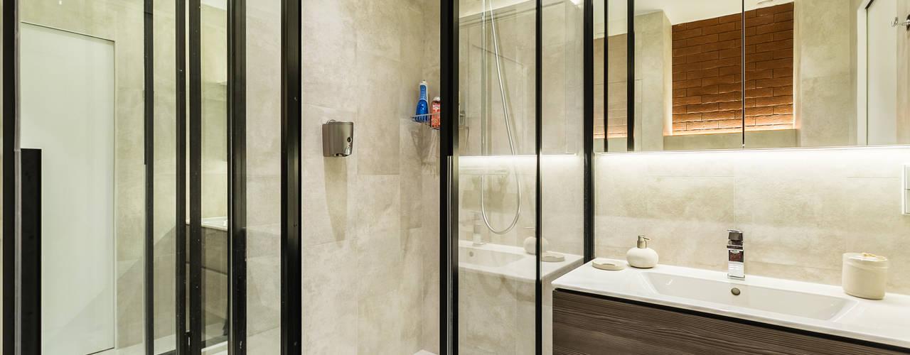 Примеры ремонтов от студии Icon Бюро интерьеров ICON Ванная в стиле лофт