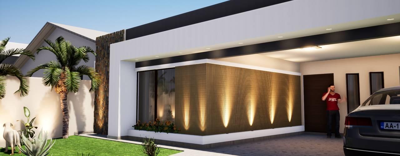 Modernização de Fachada por Danilo Rodrigues Arquitetura Moderno