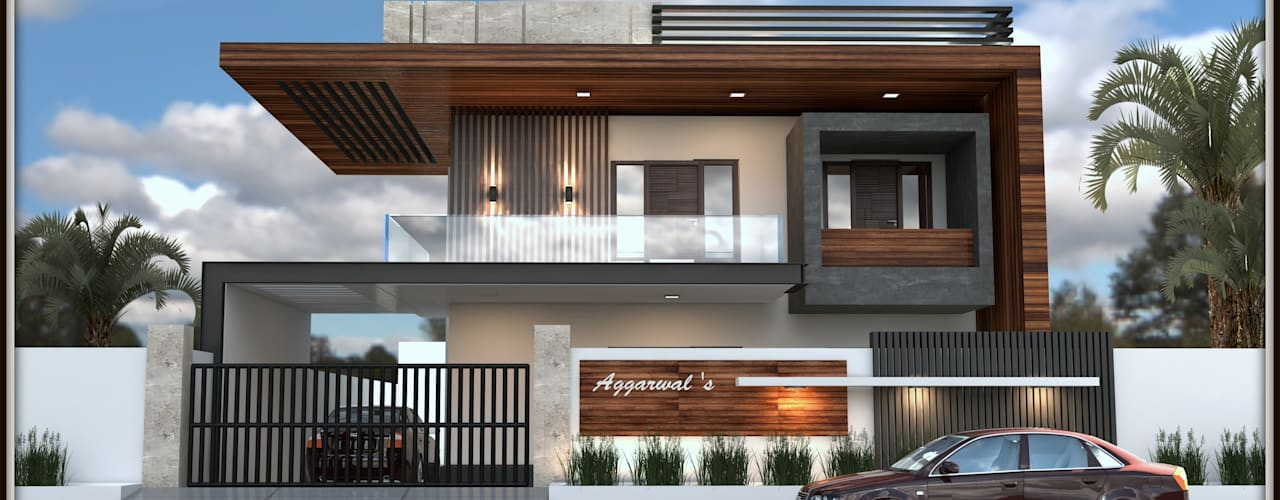 Residence 500sqmt by Inception Design Cell Modern