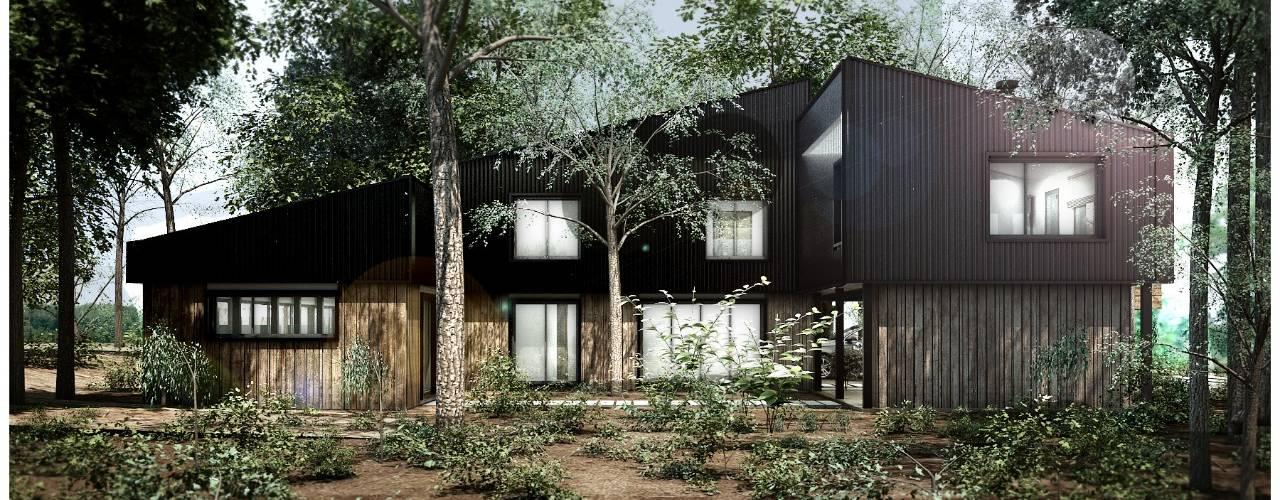Vivienda unifamiliar en Bariloche, Rio Negro de REZ Arquitectura | Diseño | Construcción