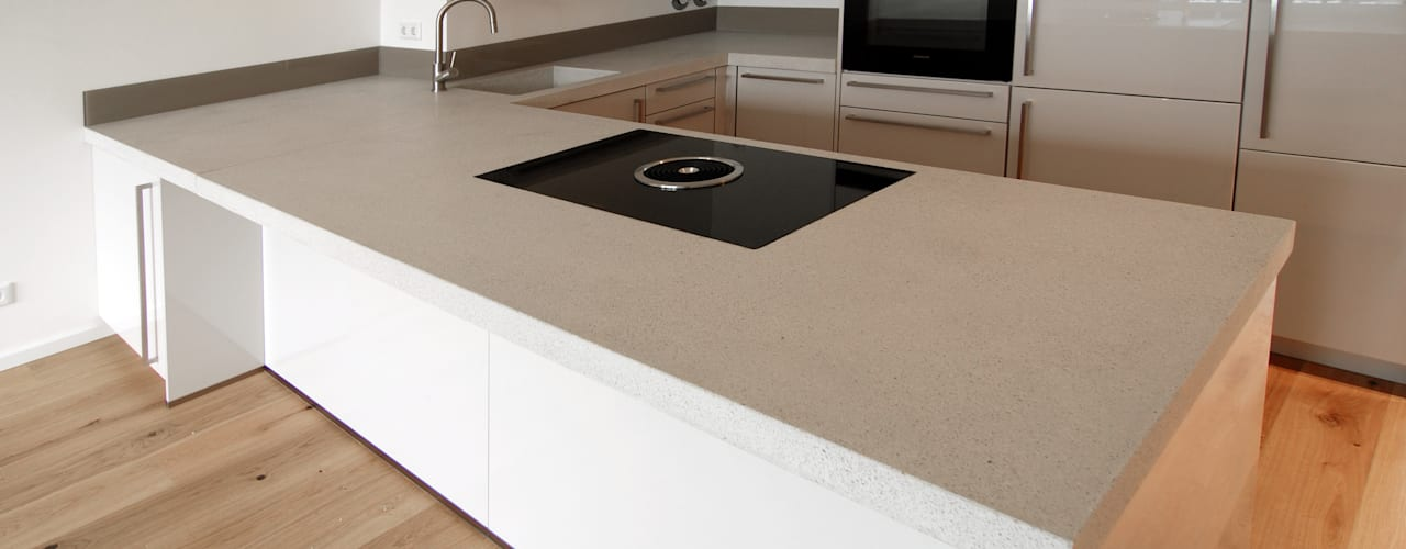 material raum form KitchenBench tops Concrete Beige