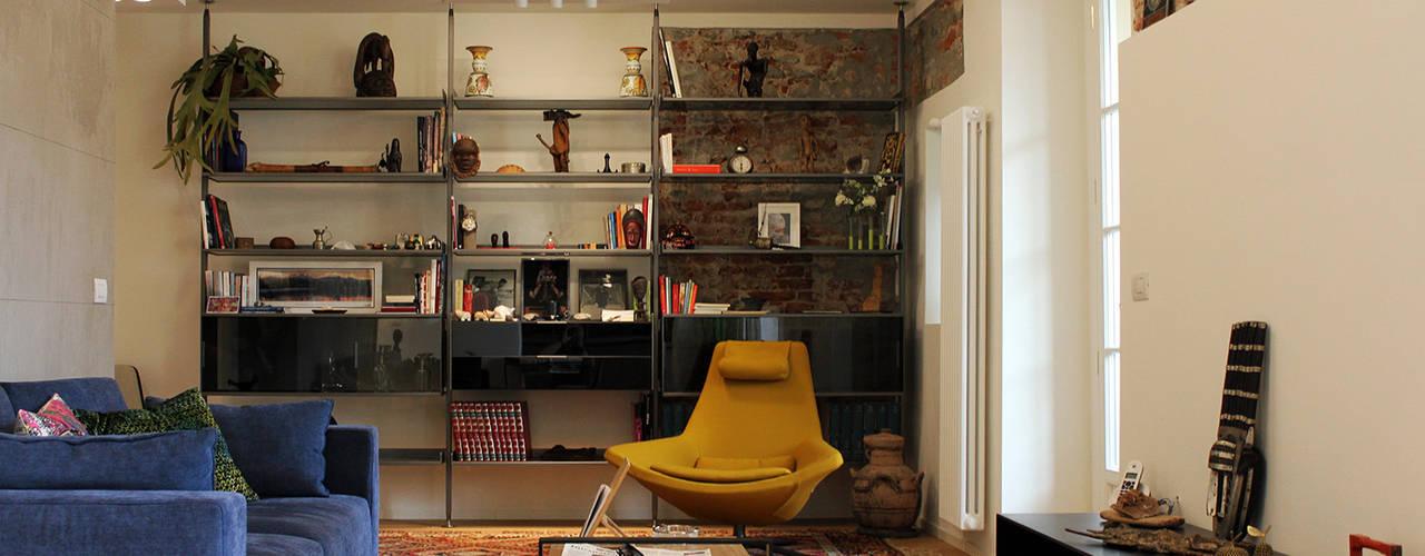 Salon moderne par Onice Architetti Moderne