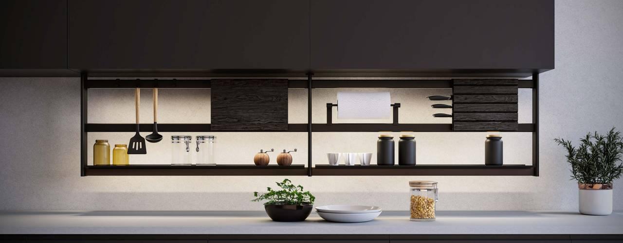 Hang Cucina moderna di Damiano Latini srl Moderno