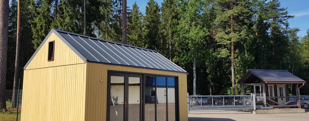 Thule Tiny House von THULE Blockhaus GmbH - Ihr Fertigbausatz für ein Holzhaus Minimalistisch