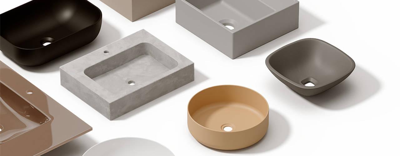 Infografias 3D y Renders 3D Madrid BathroomSinks