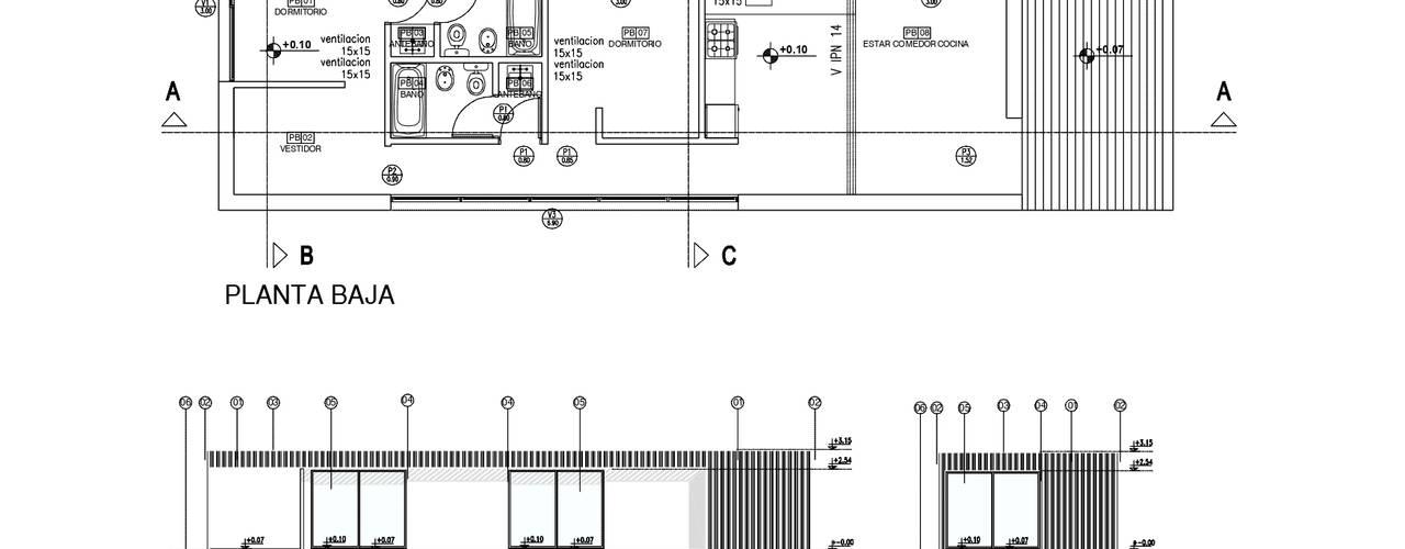 VIVIENDA UNIFAMILIAR | Roca, Río Negro REZ Arquitectura | Diseño | Construcción Casas unifamiliares