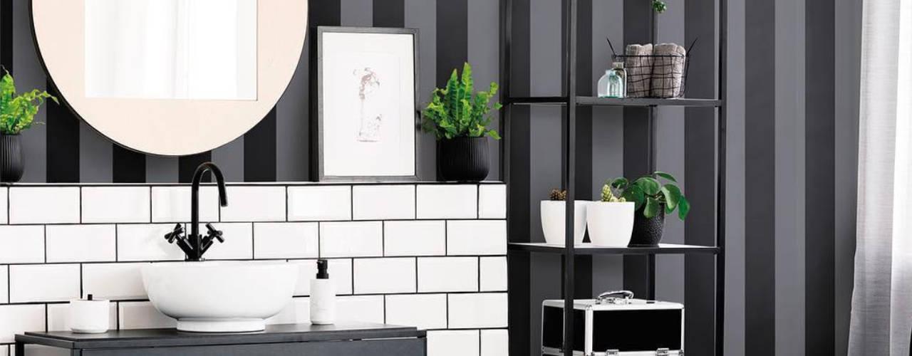 ¡10 ideas de papel tapiz para baño que de seguro te van a ...