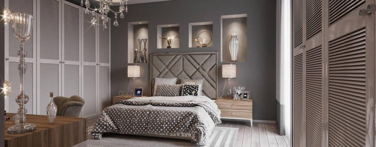 MAT DİZAYN – Bedroom design: modern tarz , Modern