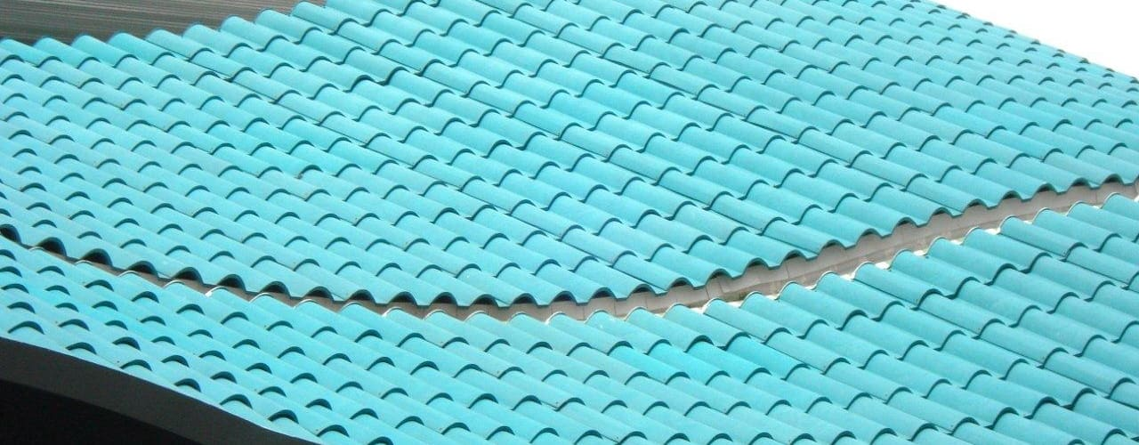 Roofeco System SL Roof terrace Plastic Turquoise