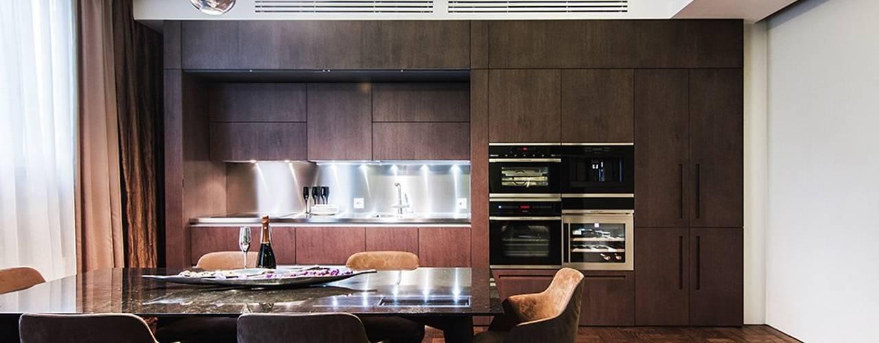 Аппартаменты под сдачу Гостиные в эклектичном стиле от Orel Andre Эклектичный