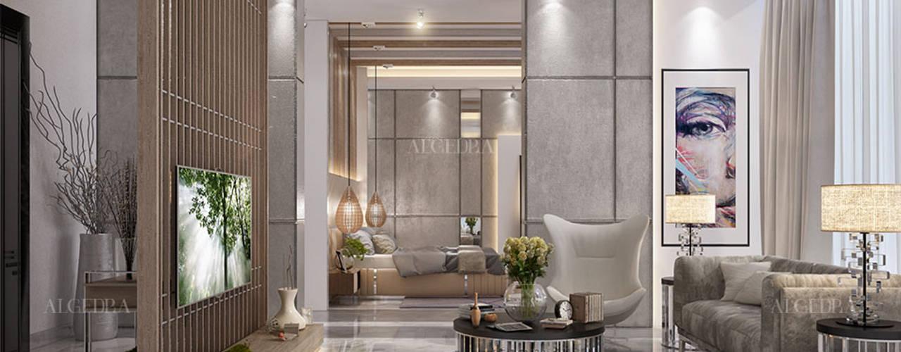 تصميم داخلي لفيلا ديلوكس على الطراز المعاصر في دبي من Algedra Interior Design حداثي