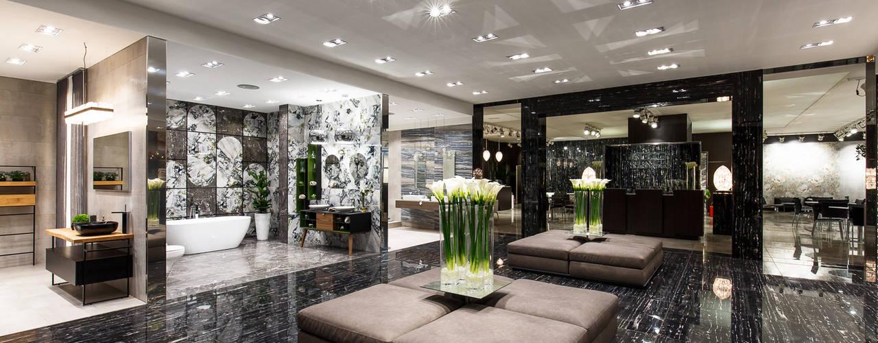 Interni Design Stand Fieristici Bagno moderno di Andrea Brintazzoli Photography Moderno